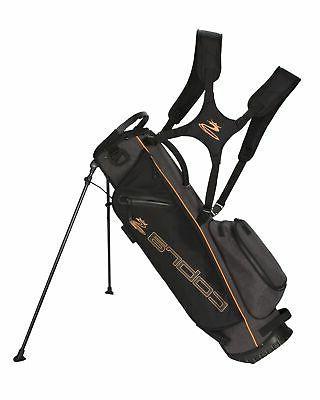 new golf ultralight sunday bag black