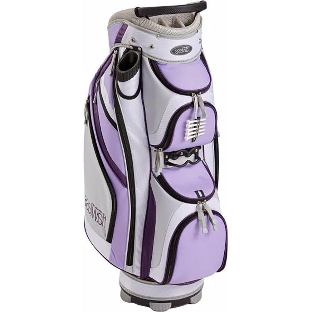 New Women's Flawless Cart bag Purple Way Divider Ladies
