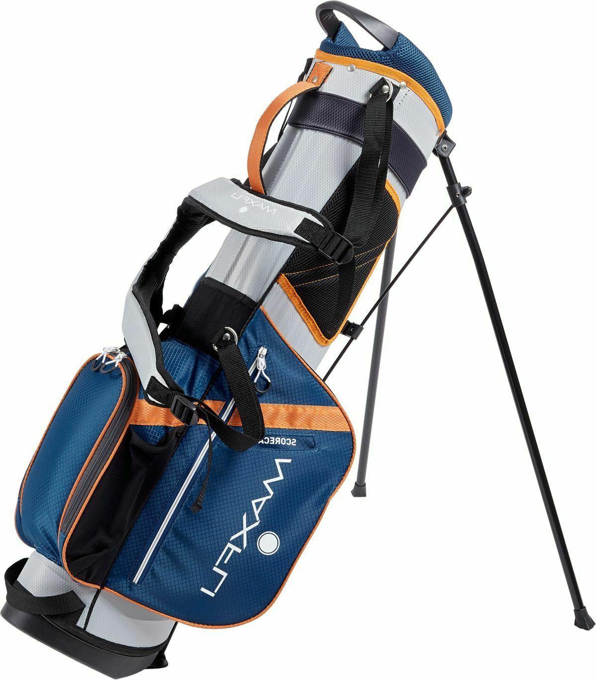 New Maxfli Golf Stand 3-Way Divider Blue