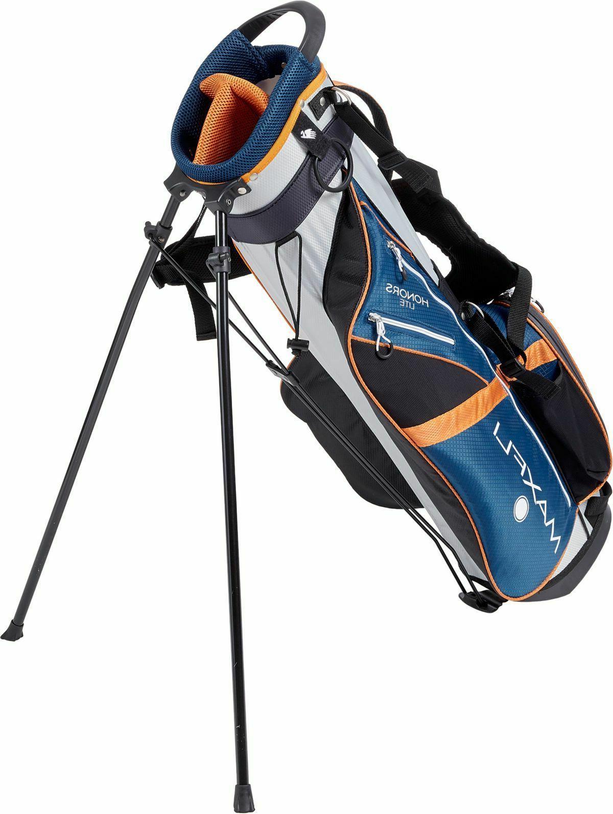 New Maxfli Golf Stand Divider Straps Blue
