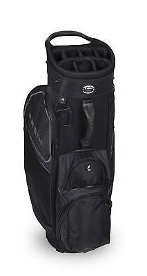 New Hot-Z Golf 3.5 Cart Bag Black/Gray