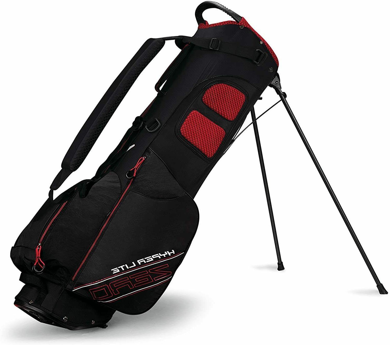 New Callaway Hyper Lite Zero DBL 4-Way Carry Golf Red White