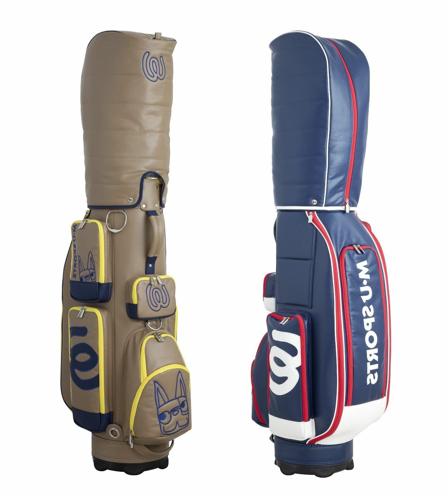 New MU Sports Japanese Brand Golf Cart Bag - 703R6151 Beige