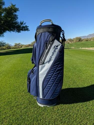 *TaylorMade Cart Lite Navy/Gray *Cart Golf Bag*Manufacture D