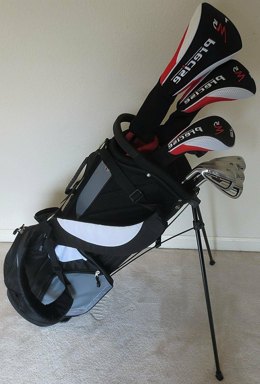 new mens complete golf club set driver