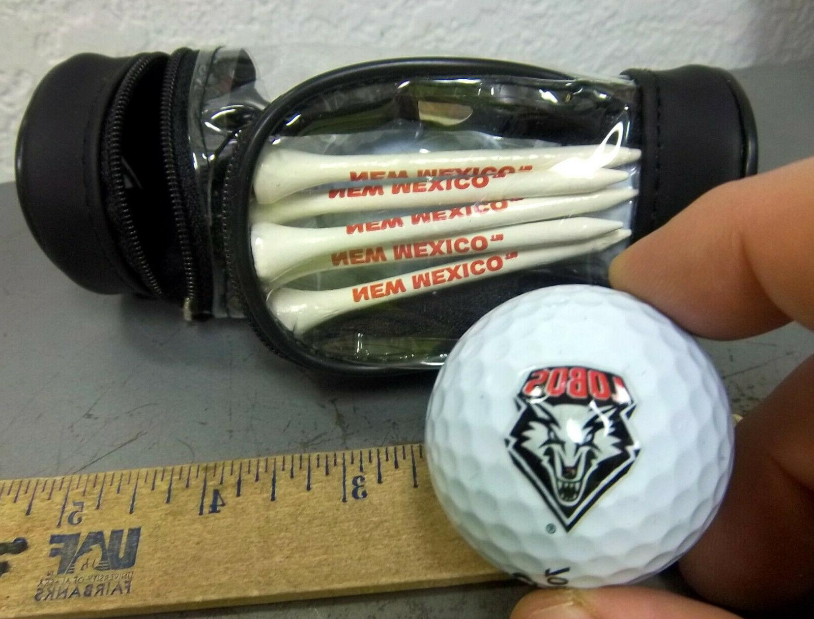 new mexico lobos golf ball and golf