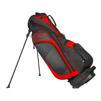 new press golf stand bag 7 way