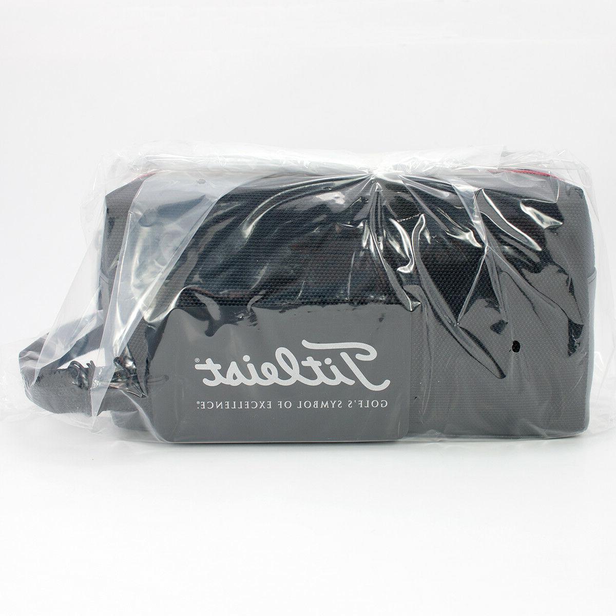 NEW Titleist Golf Professional Travel Gear Zippered Pouch Black
