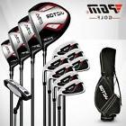 New Round Fairway Wood Set  Metal Mens Right Hand Club Golf