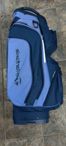 New TaylorMade TM20 Supreme 14-Way  Golf Cart Bag Blue/Navy