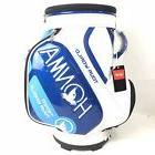 NEW Honma Tour World White/Blue  Staff Caddy Bag