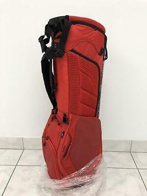 new ultra lightweight stand bag red 2