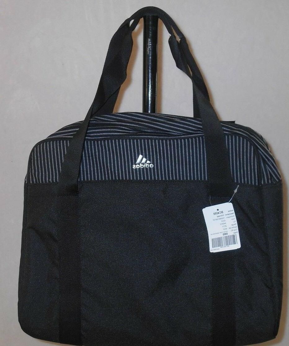 NEW Adidas Multi-Use Lap Top Shoes Golf Handle Tote Bag Blac