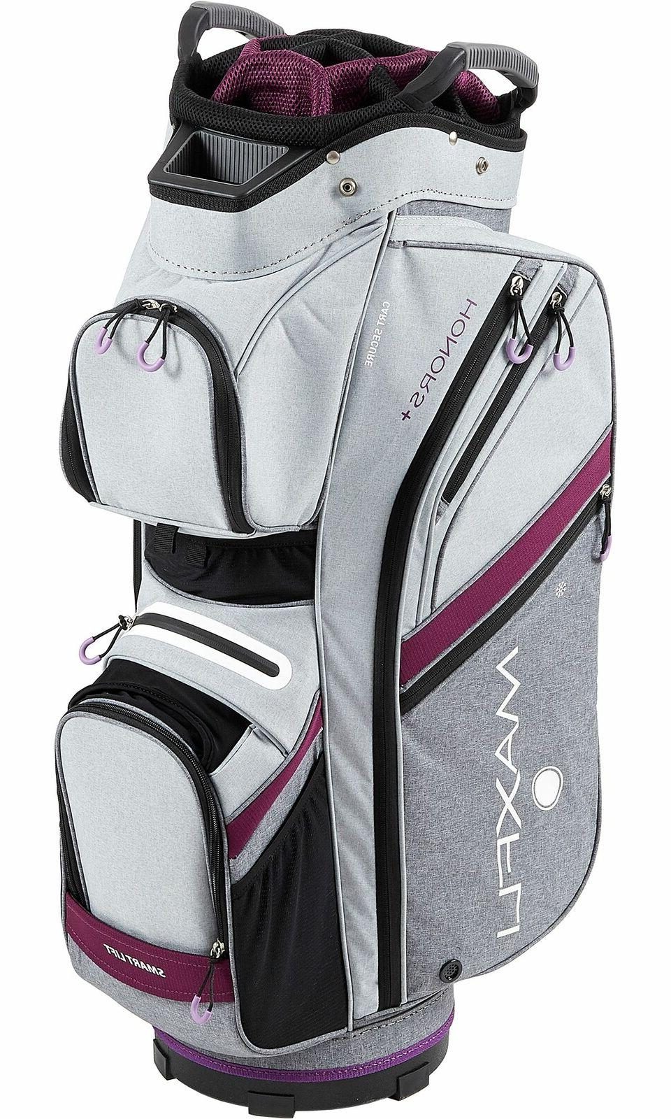 New Maxfli Golf Cart Bag 2019 Plus Gray/Purple