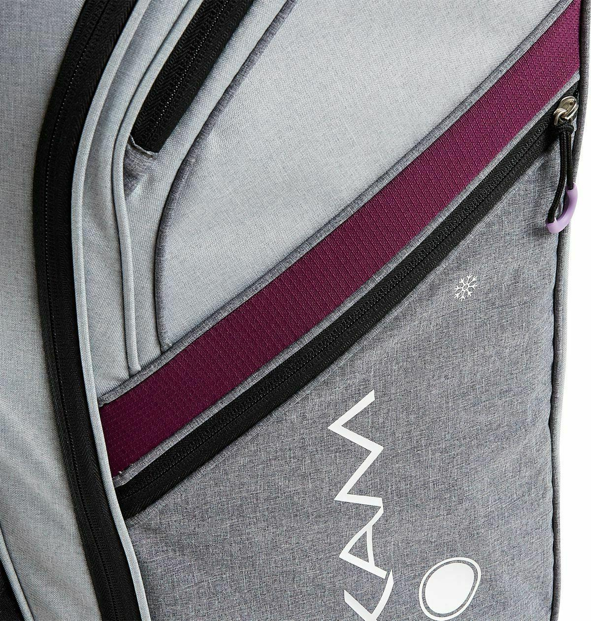 New Maxfli Cart Bag 2019 Honors Plus 14-Way - Gray/Purple