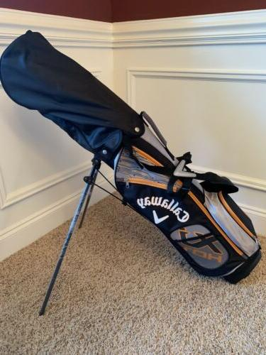 New Callaway XJ Boys Junior Golf Complete Set Ages 9-12