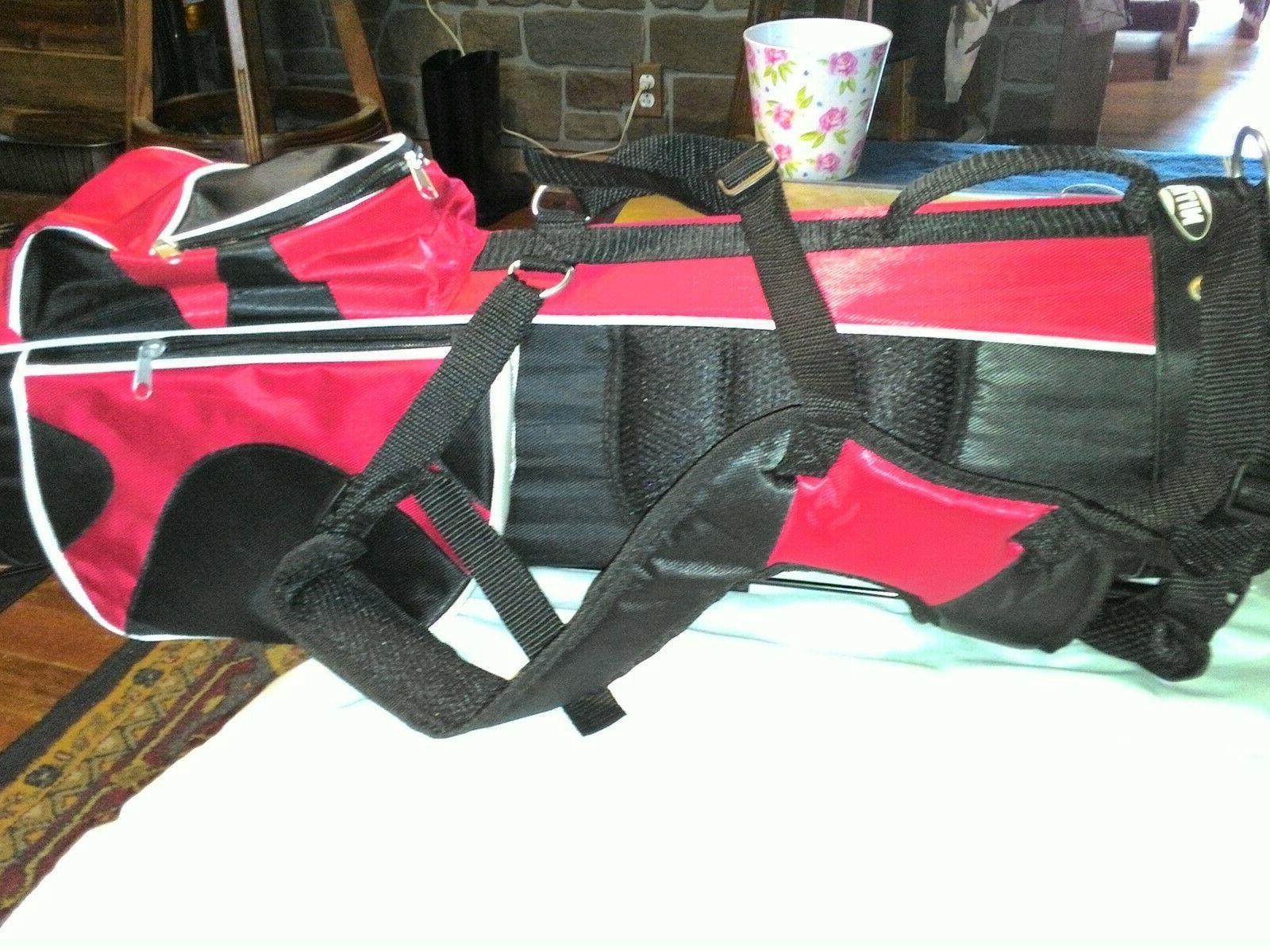 Golf Bag w/5 clubs pluse protector.