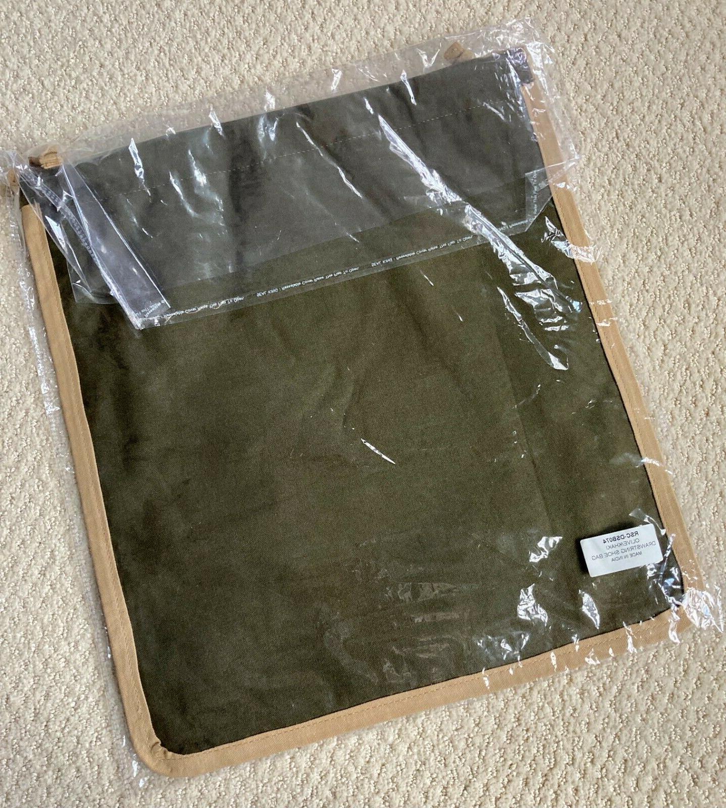NWT R Scott Ame Drawstring Mens Bag Gift