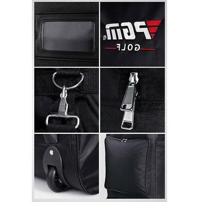 Original Golf Bag Air Bag with Pulley Single-layer Consignment Golf Bag