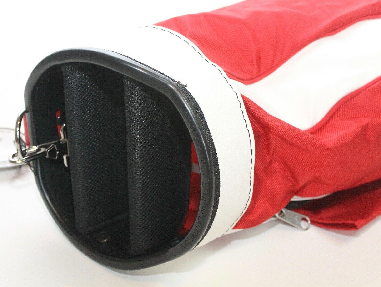 Original Jones Golf Single Strap Carry Bag & White Lightweight New