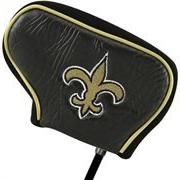 New Orleans Saints Black Blade Putter Cover