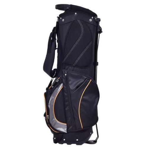 Outdoor Golf Stand Bag Divider Pockets Storage Organizer
