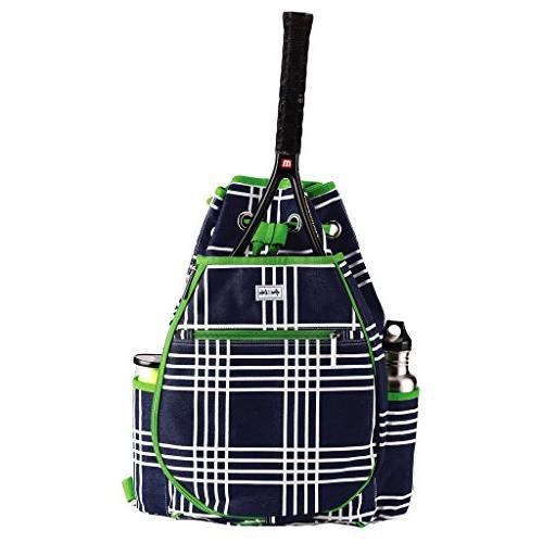 parker plaid kingsley tennis backpack