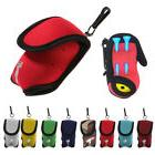 Perfeclan Mini Golf Ball Bag Golf Tees Holder Carry Pouch Be
