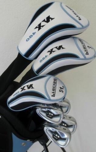 Petite Ladies Golf Hybrid Combo Irons Putter