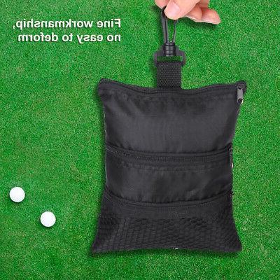 Portable Black Ball Oxford Handbag Bag Golf