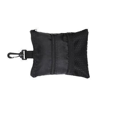 Portable Black Oxford Handbag Bag Golf Accessories