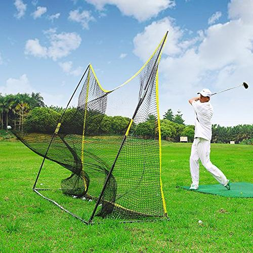 portable golf hitting net