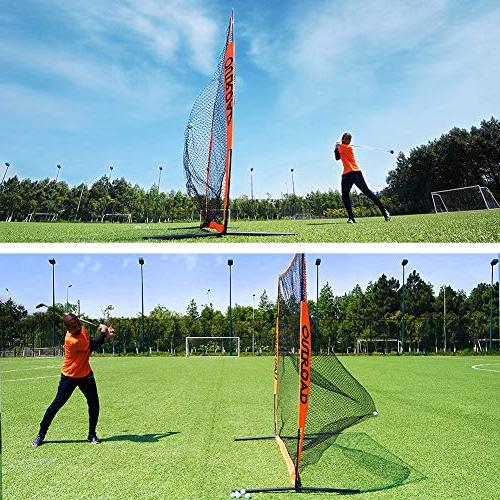 Outroad 7x7 Portable Golf Net Practice with Carry Bag,