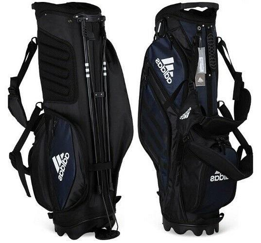 Adidas Golf Stand Bag Navy 9In 7-Way Sporting Goods