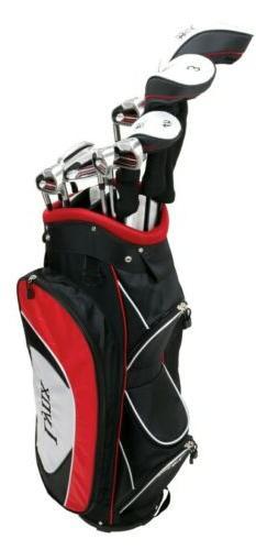 Lynx Power Tune Men's Complete 11-Piece Golf Club Set with C