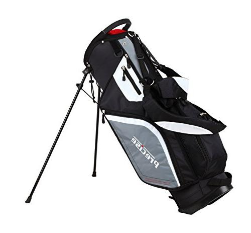 Top Men's Right Handed Club Set , Driver, Wood, 6, PW with True Temper Shaft, Putter, Bag & Headcovers