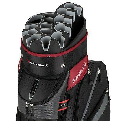 premium cart bag with 14 way organizer
