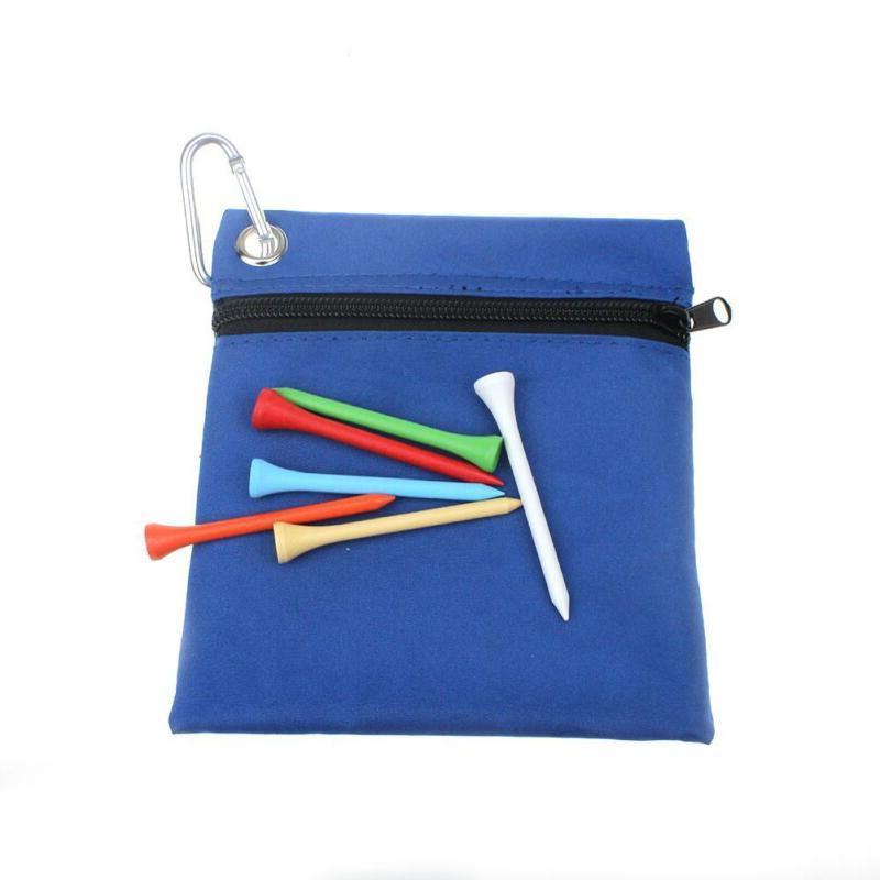 Pro Golf Tee Bag Holder Storage Pouch Case