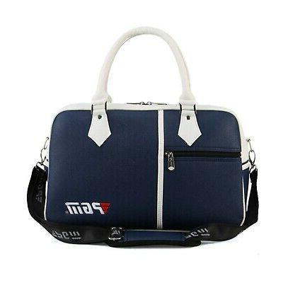 pu golf duffle bag golf clothing bag