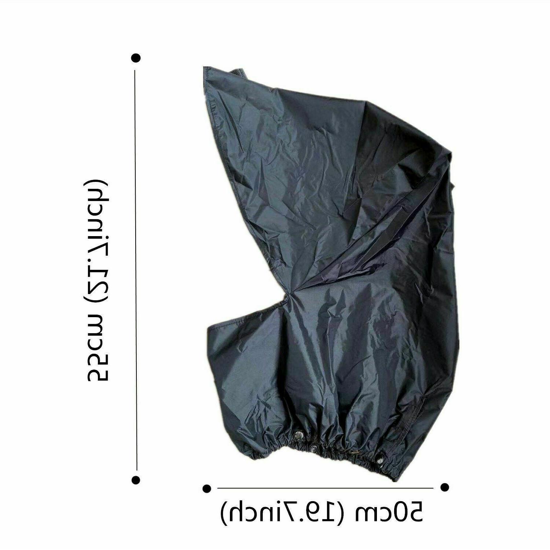 Waterproof Bag Hood - Foldable Dry Top Durable US
