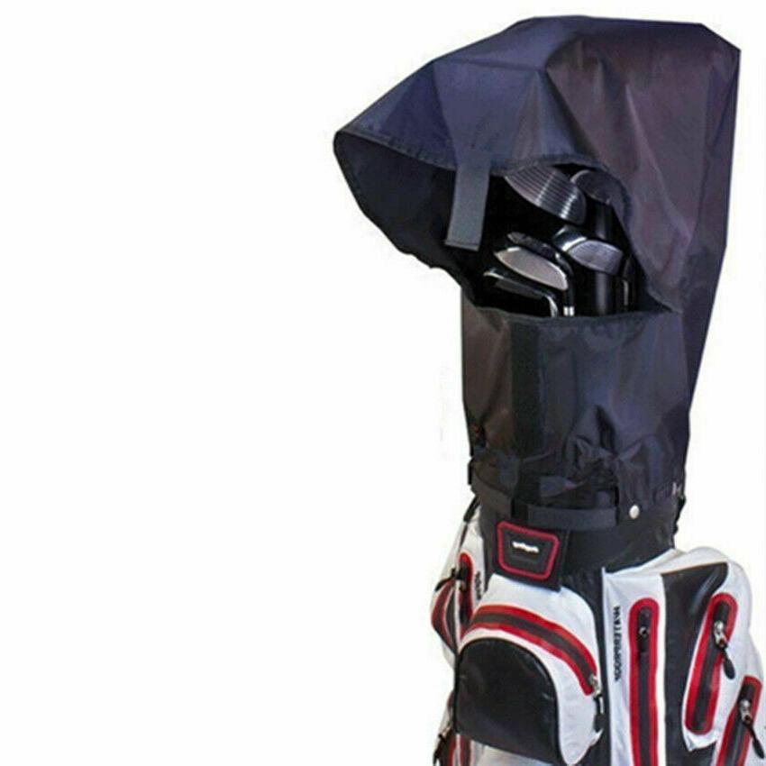 Waterproof Golf Bag Rain Cover Rain Hood Large Black Club Pr