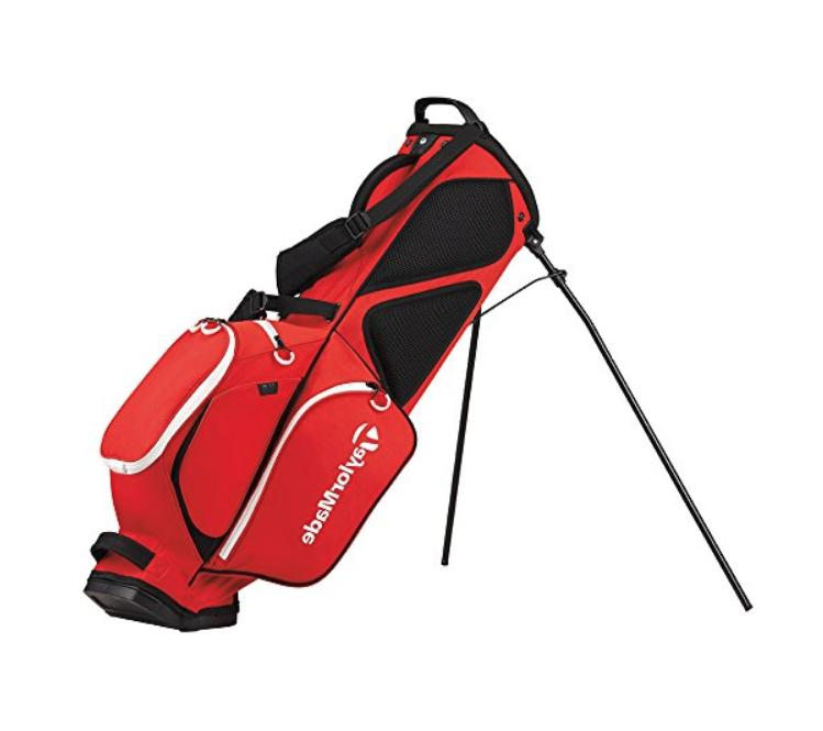 Red Black TaylorMade Stand Quality Golfer New