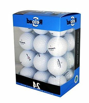 reload recycled golf balls