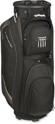 Bag Boy Unisex Revolver FX Cart Bag, Black/Charcoal/Silver ,