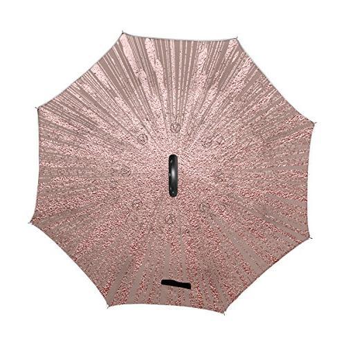 Glitter Layer Windproof Umbrella
