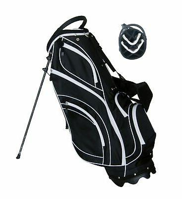 Precise S7 14-Way Divider Golf Stand Bag Hood 4.8 lbs!