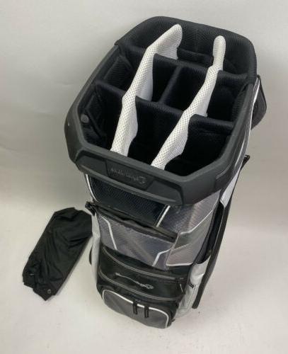 Carry Golf Bag - White/Black/Gray Free