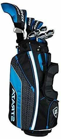 Callaway Men's Strata Ultimate Complete Golf Set 16-Piece Ri