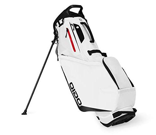 shadow fuse 304 golf stand bag white