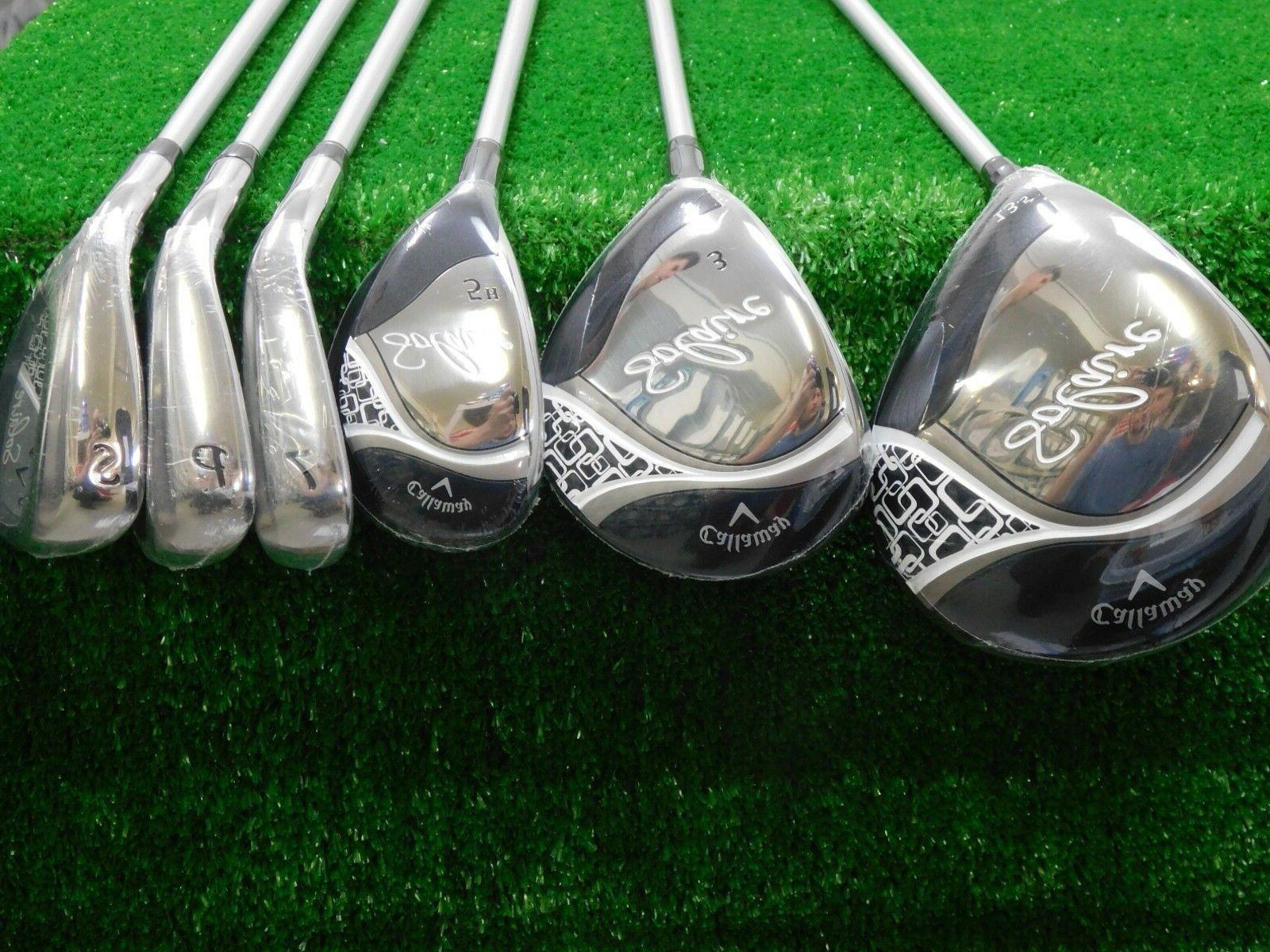 Callaway Solaire Black Complete Golf w Rain Hood Ladies New